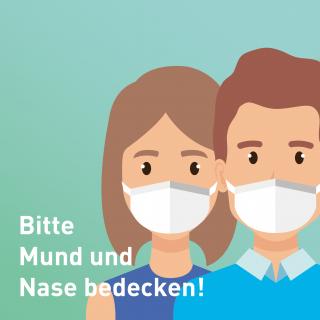 Mund-Nasenbedeckungspflicht