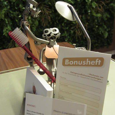 Zahnpflege und Bonusheft